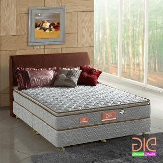 【aie享愛名床】竹碳 3M防潑水真三線彈簧床墊-雙人加大6尺 經濟型