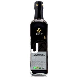 【喜樂之泉】有機黑豆醬油(500ml)