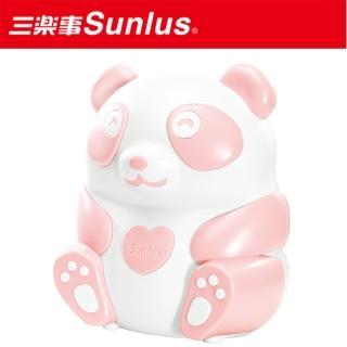 【Sunlus三樂事】熊貝比電動吸鼻器(粉)