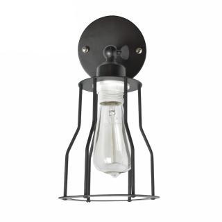 【華燈市】黑色蓋斯工業風角型壁燈(LOFT工業風)
