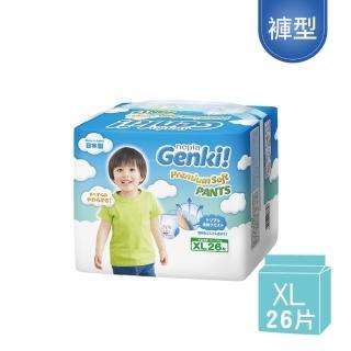 【王子GENKI】超柔軟拉拉褲/褲型尿布(XL26)