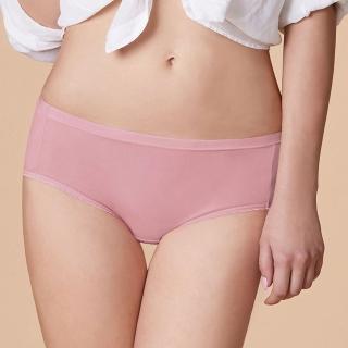 【曼黛瑪璉】低腰三角生理內褲 M-XL(輕甜粉)