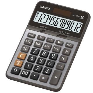 【CASIO】12位元金屬面板計算機(AX-120B)