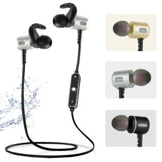 【YANGYI揚邑】運動立體聲可通話耳塞式鋁合金藍牙耳機(YS005)