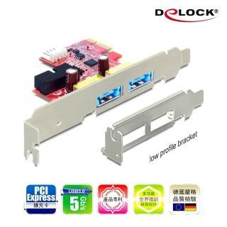 【Delock】PCI express擴充卡4 in 1多功能連接埠(89288)