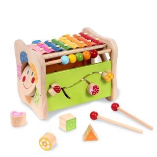 boby波比 木質多功能益智遊戲玩具台(木製玩具)