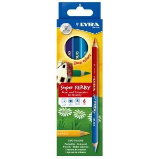 【德國LYRA】三角雙頭彩色鉛筆(12色)
