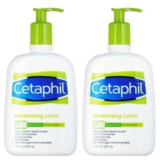 【Cetaphil舒特膚】溫和乳液20oz(2入組)