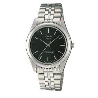 【CASIO 卡西歐】送禮首選_不鏽鋼錶帶_礦物玻璃_生活防水_指針男錶(MTP-1129A)