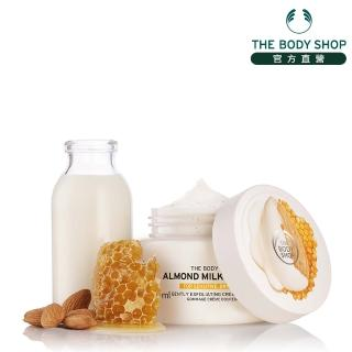 【THE BODY SHOP】杏奶花蜜滋養沐浴果醬(250ML)