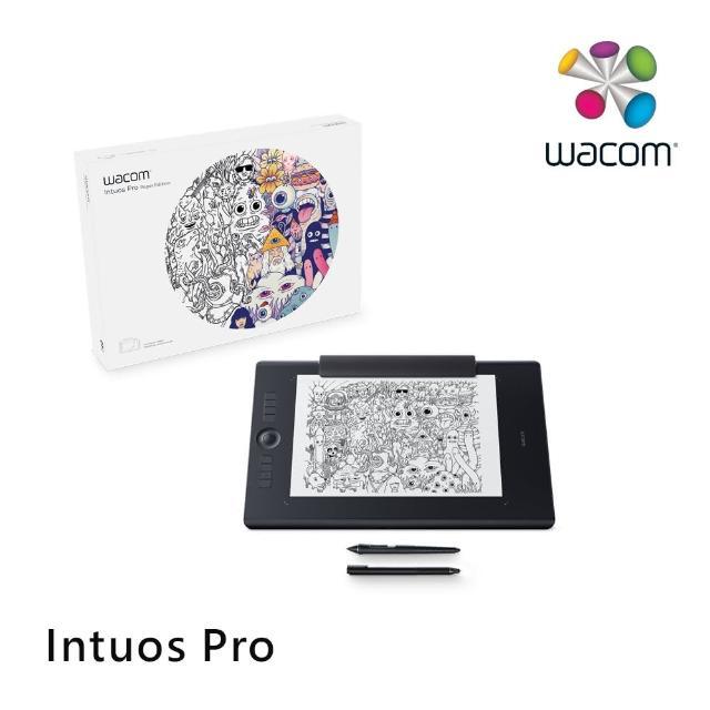 【Wacom】Intuos Pro Large 雙功能創意觸控繪圖板 經典黑