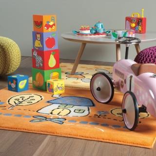 【范登伯格】卡比諾★白兔家園地毯(117x170cm)