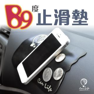 【CarLife】汽車收納-89度止滑墊-大18X12cm-1入/組(不思議的止滑-就像黏住了)
