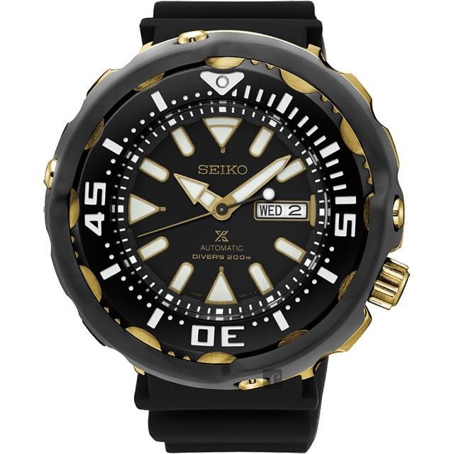 【SEIKO】精工 Prospex Scuba 水中蛟龍機械腕錶-51mm(4R36-05T0K  SRPA82J1)