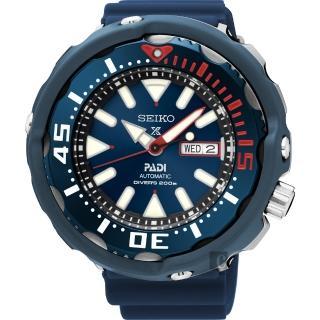 【SEIKO】Prospex PADI 聯名潛水限量機械腕錶-藍(4R36-05V0B  SRPA83J1)