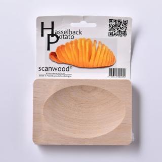 【丹麥 Scanwood】手風琴馬鈴薯切片盤