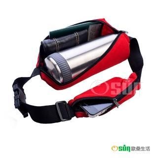 【Osun】魔術隱形腰包、霹靂腰背包 一大袋一小袋(4入款)