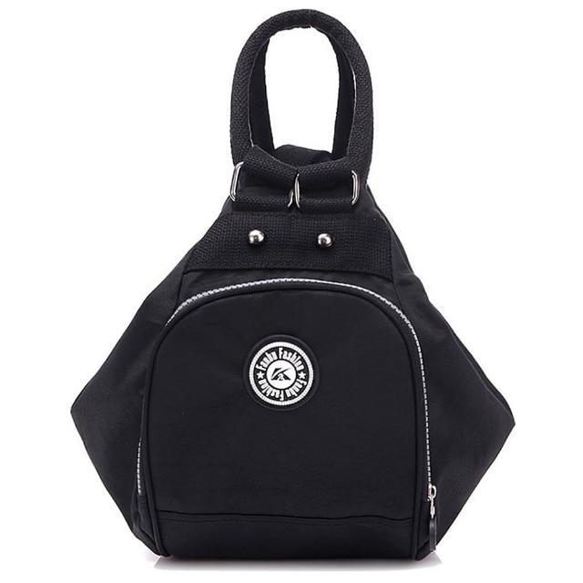 【Acorn-橡果】韓風輕量防水多功能後背包5366(黑色)