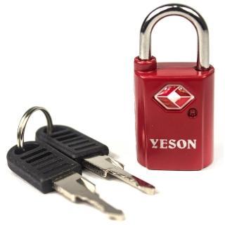 【YESON】歐美海關專用TSA旅用鑰匙鎖-二色可選(MG-2513)