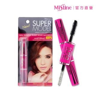 ~Mistine~Mistine SUPER MODEL 4D 二合一纖長濃密雙頭睫毛膏