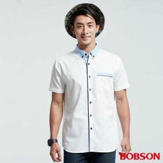 【BOBSON】男款拼接色襯衫(26002-80)