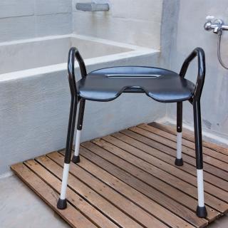 【樂活動】黔黑樂享寬座雙高扶手洗澡椅