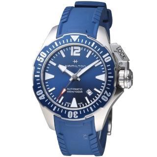 【Hamilton 漢米爾頓】卡其海軍系列蛙人腕錶(H77705345)