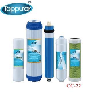 【泰浦樂 Toppuror】【5入包】一台份濾心組