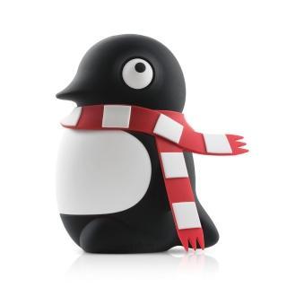 【Bone】企鵝公仔行動電源 6700mAh(無毒認證矽膠 充電器)