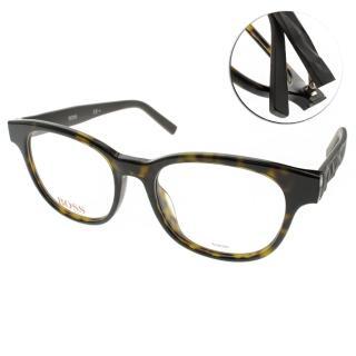 【BOSS ORANGE眼鏡】名品時尚經典(琥珀-灰#BR0239F LEG)