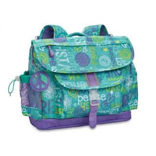 【美國Bixbee】迷彩系列希望.和平.愛中童輕量減壓背書包