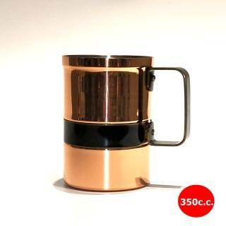 【福介商店】新光堂Sinkoudo 銅杯 350cc 馬克杯(咖啡杯 銅茶杯 水杯 啤酒杯)