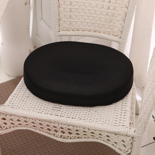 【原生良品】日系O型高回彈美臀坐墊/椅墊(黑色)/