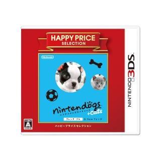 【任天堂】任天狗狗貓貓-法國鬥牛犬 日版日文版/日規機專用(3DS軟體)