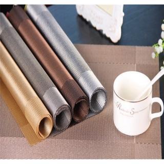【巴芙洛】歐式經典相框PVC隔熱防水餐墊-6入一組