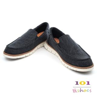 【101玩shoes】MIT經典帆布休閒鞋-男款.女大尺碼可穿(黑色.42-46碼)