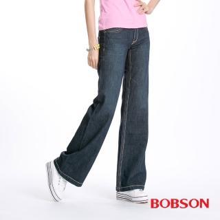 【BOBSON】女款BAGGY大喇叭褲(9040-52)