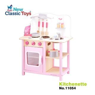 【New Classic Toys】小主廚木製廚房玩具(含配件9件)