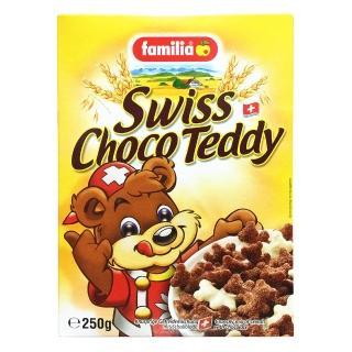 ~Familia~瑞士全家小熊巧克力玉米夾心脆片 來自瑞士的天然穀物
