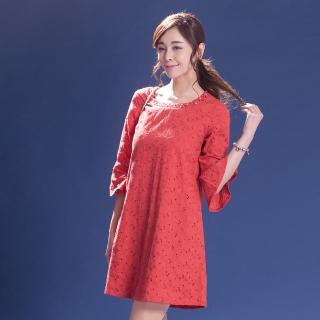 L'LAR棉質威尼斯編織蕾絲洋裝組(S)(20)