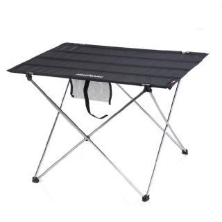 【PUSH!戶外休閒用品】便攜式鋁合金戶外折疊桌野餐桌(加大版)