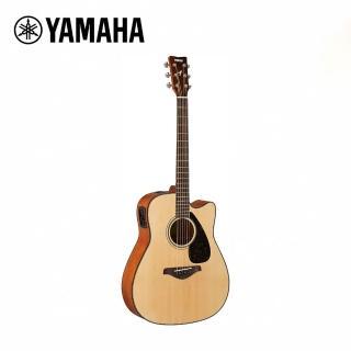 【YAMAHA 山葉】FGX800CNT 電民謠木吉他 原木色(附贈琴袋 背帶 以及彈片)