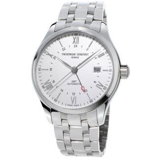 【康斯登 CONSTANT】CLASSICS百年經典系列INDEX世界時區腕錶(FC-350S5B6B)