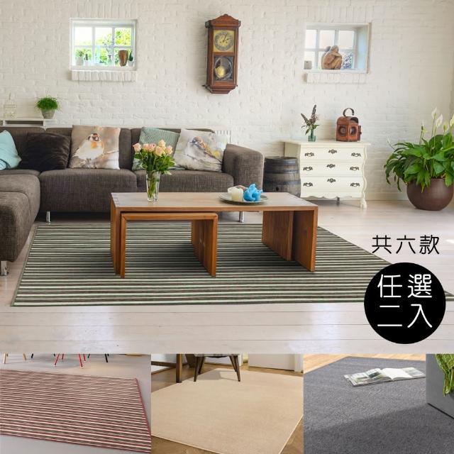 【范登伯格】超值任選兩入組地毯-共六款(小款)/