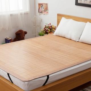 【LAMINA】平單式碳化竹蓆-6x6尺(加大)
