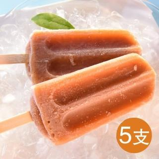 【鮮食家任選799】班鳩冰品 山楂烏梅冰棒(80g*5支/袋)