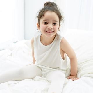 【樂活動】MIT鋅纖維抗敏-兒童無袖內衣(背心、孩童無袖內衣、白色內衣、衛生衣、舒適不敏感、天然親膚)