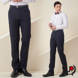 【極品西服】細緻仿毛素面平面西褲_黑(BS632-1)