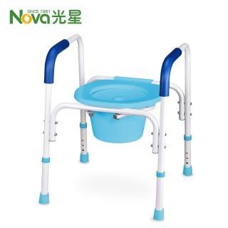 【光星NOVA】鋁製便器椅 馬桶椅 洗澡椅C8400 - NOVA機械椅