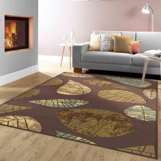 【范登伯格】法爾達 頂級立體雕花絲質地毯-葉子(240x340cm)